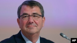 Secretario de Defensa de EE.UU., Ashton Carter.
