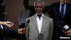ရခိုင္အၾကံေပး ေကာ္မရွင္ ဥကၠဌ Kofi Annan