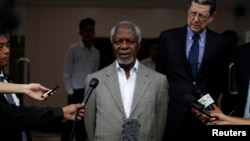 Kofi Annan Update