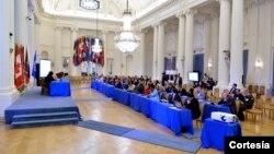 El Taller Regional sobre Seguridad Cibernética para América Latina se realizó en la sede de la OEA en Washington.