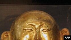 陈国公主墓出土的「黄金面具」