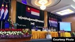 ကရင္ျပည္နယ္ အမ်ိဳးသားအဆင့္ႏိုင္ငံေရးေဆြးေႏြးပဲြ က်င္းပ (Hla Maung Shwe)