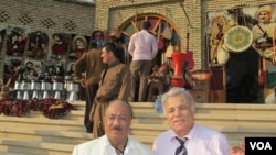 Rojnamevan Dr. Ayid El Manna û Rojnamevan Haşim Alî Mendî-Hewlêr