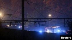عکسی که رویترز از محل حادثه منتشر کرده است.
