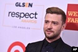 FILE - Justin Timberlake.