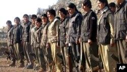 Çekdarên PKK'ê.