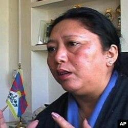 西藏流亡议会副议长嘉日卓玛