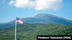 ยอดเขาวอชิงตันยอดเขาสูงสุดด้านตะวันออกเฉียงเหนือของสหรัฐฯ ระดับความสูงเหนือระดับน้ำทะเล 6,288 ฟุต