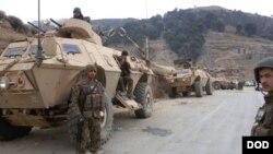 سربازان افغان در سال گذشته آزمونهای بزرگ امنیتی را پشت سر گذشتاندند.