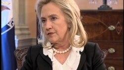 Wawancara VOA dengan Hillary Clinton Terkait Masalah Iran (bag.3) - Liputan VOA 26 Oktober 2011