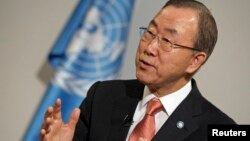 Generalni sekretar Ujedinjenih nacija Ban ki Mun