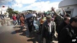 لیبیا میں قتل عام کی اطلاعات