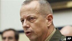 國際安全援助部隊司令約翰•艾倫(資料圖片)