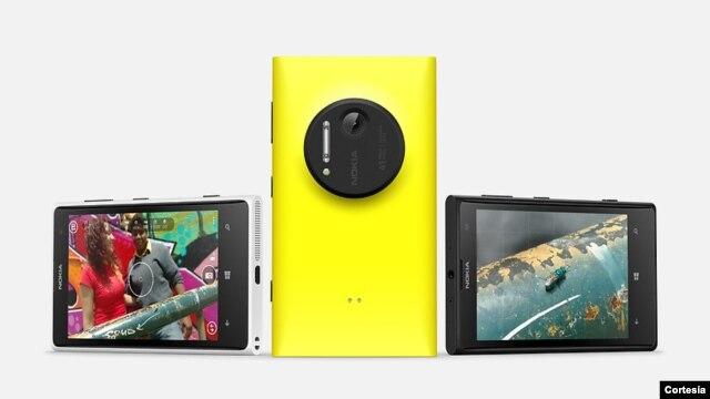 El nuevo modelo de Nokia, el Lumia 1020. Fotografía por cortesía de Nokia.