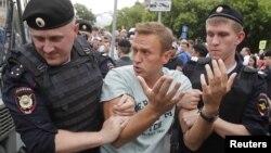 Алексей Навальный. Москва, Россия. 12 июня 2019 г.