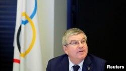 토마스 바흐 IOC 위원장.