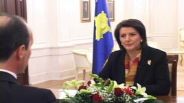 Jahjaga: Duhet ta përmbyllim konfliktin me Serbinë