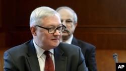 روس کے نائب وزیر خارجہ سرگئی ریبکوف