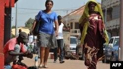 Residentes de Bissau