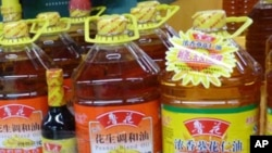 中国食品安全问题已经达到让人心惊肉跳的地步。图为中国超市内的食品。