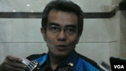 Ketua Ombudsman Republik Indonesia, Danang Giriwardana (VOA/Iris Gera)