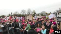 مظاهره زنان در واشنگتن