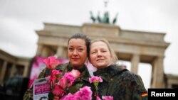 Phụ nữ Berlin, Đức, ngày 8/3/2019.
