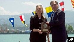 Xillari Klinton Gruziyada, Batumi, 5-iyun, 2012-yil