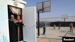 Penaberên Sûrî yên kampeke Urdunê