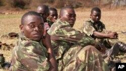 Soldados moçambicanos