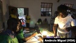 A mulher foi activa no processo eleitoral. Eleitora, Pemba, Cabo Delgado, Moçambique