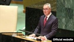 Predsjednik Crne Gore Milo Đukanović govori u Generalnoj skupštini Ujedinjenih nacija (Foto: Predsjednik.me)
