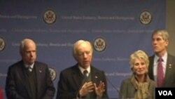 Američki senatori u Sarajevu: SAD nisu digle ruke od BiH