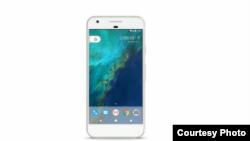 """谷歌星期二在三藩市發布了名為""""像素""""(Pixel)的新款智能手機。"""
