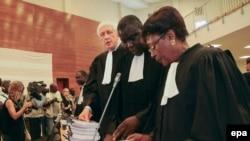 Des avocats au Palais de Justice à Dakar, au Sénégal, 20 juillet 2015. epa/ STR