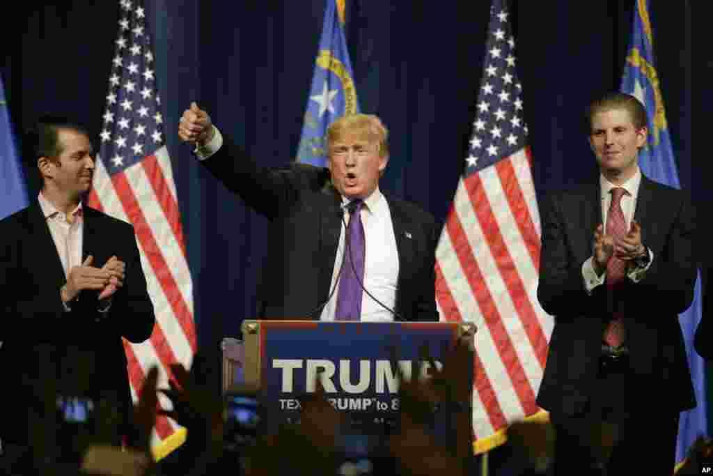 Cumhuriyetçi Başkan aday adayı Donald Trump