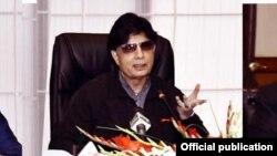 وزیر داخلہ چوہدری نثار علی خان