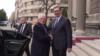 Visokog predstavnik EU za spoljnu politiku i bezbednost Žozep Borelj i predsednik Srbije Aleksandar Vučić tokom sastanka u Beogradu, 31. januara 2020.