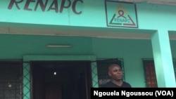 Jean-Pierre Mahoungou, le directeur exécutif du RENAPC exige la disponibilité des ARV pour les six prochains mois, à Brazzaville, Congo, Ngouela Ngoussou, 30 novembre 2016.