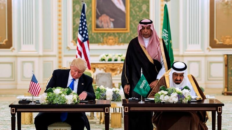 Presiden Trump, Raja Saudi Tandatangani Kesepakatan $110 Miliar