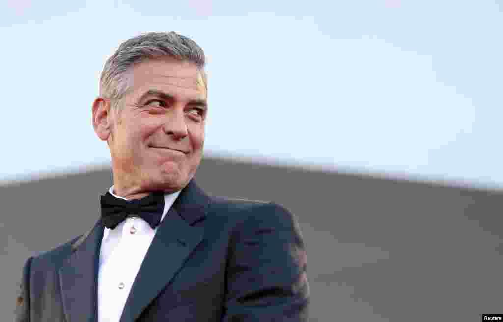 جارج کلونی نے شادی کے لیے اٹلی کے شہر وینس کا انتخاب کیا۔