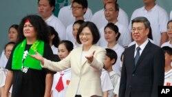 تسای اینگ ون، ۵۹ ساله رئیس جمهوری جدید تایوان است.