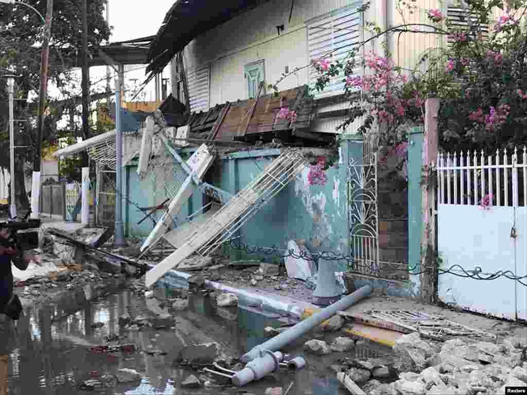 El terremoto causó la muerte de al menos una persona, el corte del suministro eléctrico y daños significativos en edificaciones.