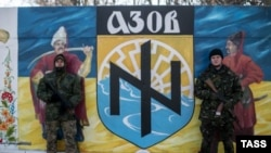 Бійці полку «Азов»
