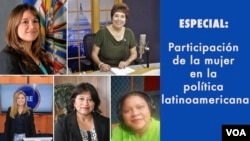 Durante el programa cada una de las participantes presentó una entrevista con mujeres protagonistas en política de sus respectivos países.