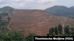 Ubutaka abaturage bavuga ko bambuwe na leta