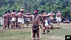 Cacike Caciba Opil, a Taino chief, hopes Puerto Ricans will regain pride in their native heritage.