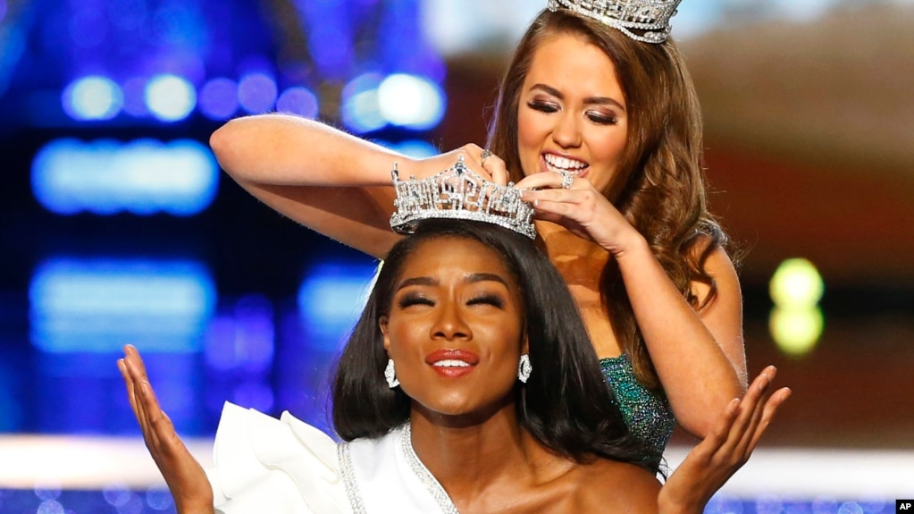 Afdf Miss New York Nia Franklin Reacts After Being Named America As She Is