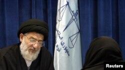 Mantan Kepala Kehakiman Iran Ayatollah Mahmoud Hashemi Shahroudi. (Foto: dok).