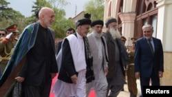 ریاست جمهوری افغانستان گفته است که رهبران پیشین جهادی از آغاز مذاکرات با پاکستان پشتیبانی کرده اند